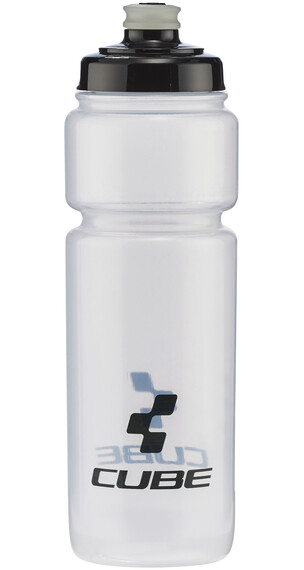 Cube Icon Trinkflasche 750 ml transparent